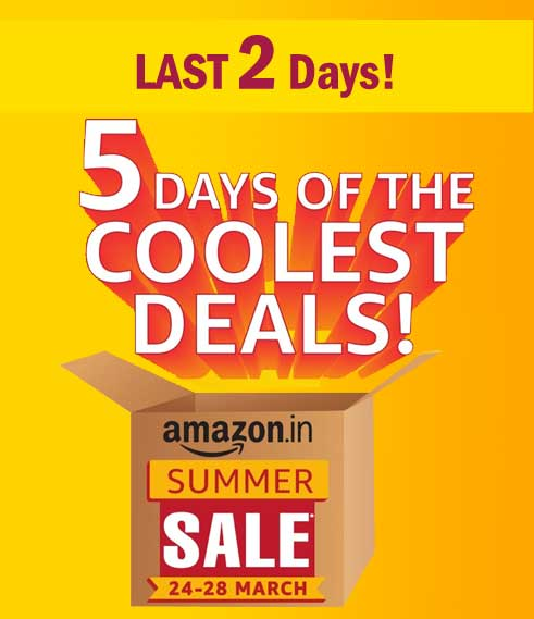 Amazon-Summer-Sale-27-28-march-2017-ACs-refrigerators-TVs-air-conditioners-washing-machines-discounts