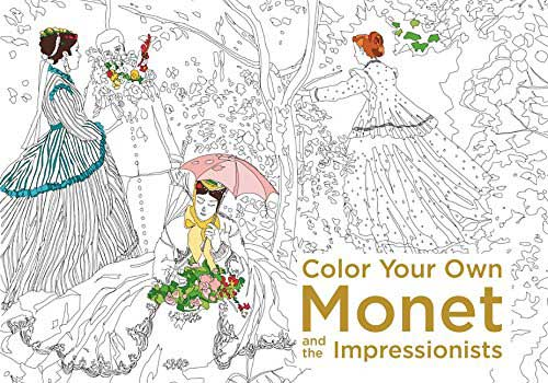 Best Adult Colouring Book Colour Your Own Monet And