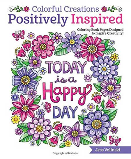 Best Adult Colouring Book Positively Inspired Happy Day India
