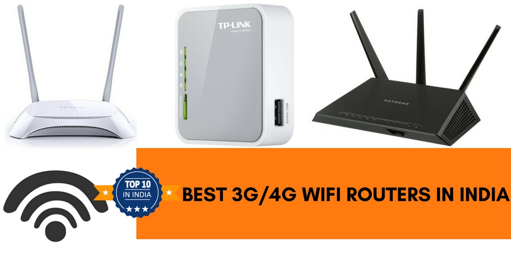 Top 10 Best 3G/4G Wifi Routers in India 2019 - Top 10 In India