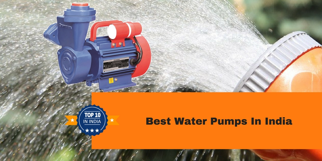 top 10 water pump companies in india